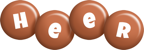 Heer candy-brown logo