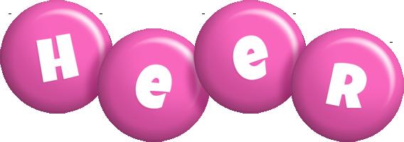 Heer candy-pink logo