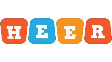 Heer comics logo