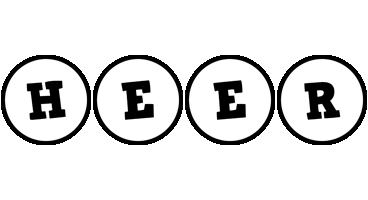 Heer handy logo