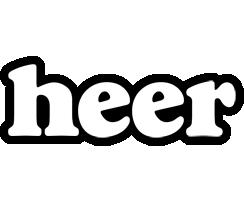 Heer panda logo
