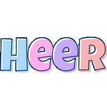 Heer pastel logo