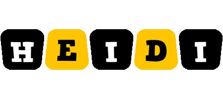 Heidi boots logo