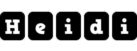 Heidi box logo