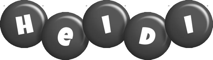 Heidi candy-black logo