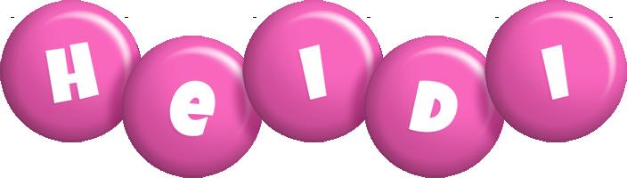 Heidi candy-pink logo