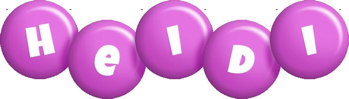 Heidi candy-purple logo