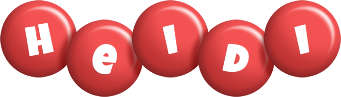 Heidi candy-red logo