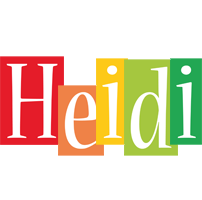 Heidi colors logo