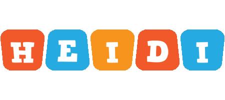 Heidi comics logo