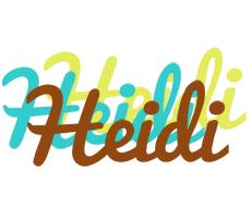 Heidi cupcake logo