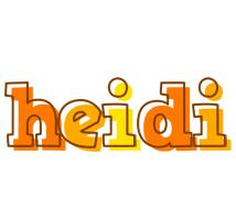 Heidi desert logo
