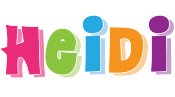 Heidi friday logo