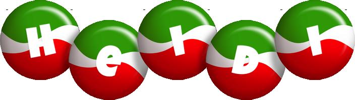 Heidi italy logo