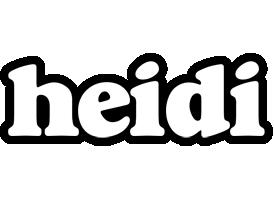 Heidi panda logo