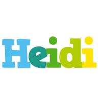 Heidi rainbows logo