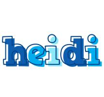 Heidi sailor logo