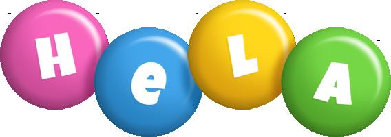 Hela candy logo