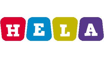 Hela daycare logo