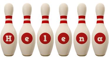 Helena bowling-pin logo