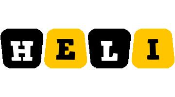 Heli boots logo