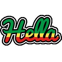 Hella african logo
