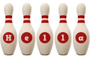 Hella bowling-pin logo