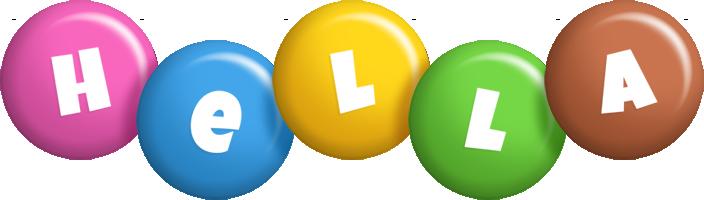 Hella candy logo