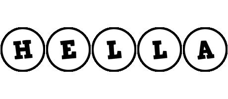 Hella handy logo
