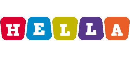 Hella kiddo logo