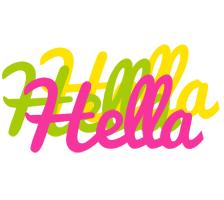 Hella sweets logo