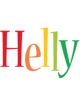 Helly birthday logo