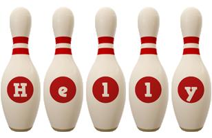 Helly bowling-pin logo