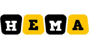 Hema boots logo