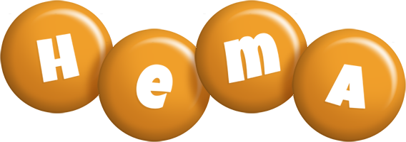 Hema candy-orange logo