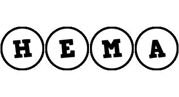 Hema handy logo
