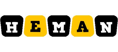 Heman boots logo