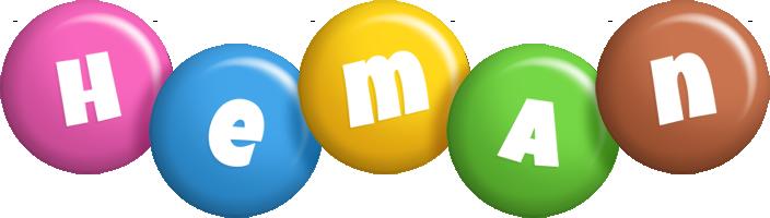 Heman candy logo
