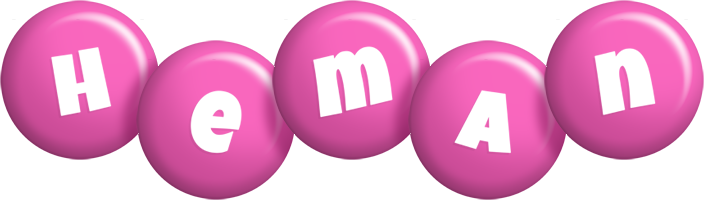 Heman candy-pink logo