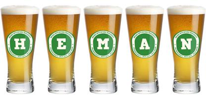 Heman lager logo
