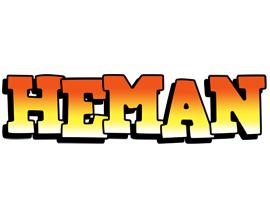 Heman sunset logo