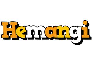 Hemangi cartoon logo