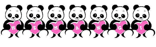 Hemangi love-panda logo