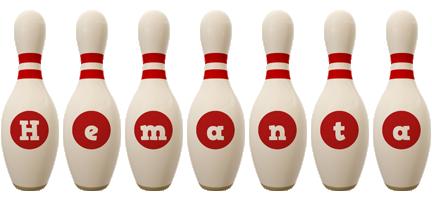 Hemanta bowling-pin logo