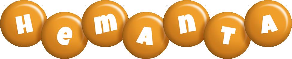 Hemanta candy-orange logo