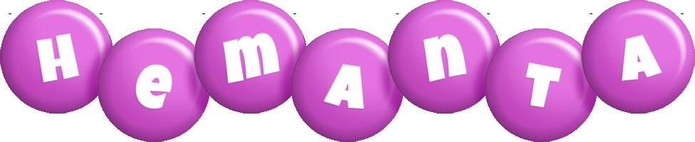 Hemanta candy-purple logo