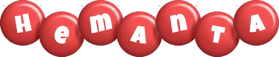 Hemanta candy-red logo