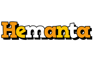 Hemanta cartoon logo