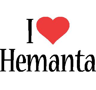 Hemanta i-love logo