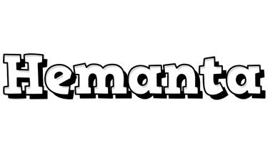 Hemanta snowing logo